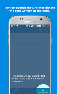 SmartyNote Notepad : A Smart Notepad for Dyslexia Screenshot
