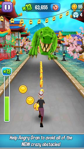 Angry Gran Run - Running Game apktram screenshots 5