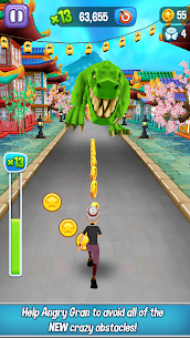 Angry Gran Run MOD APK (Unlimited Money) 5
