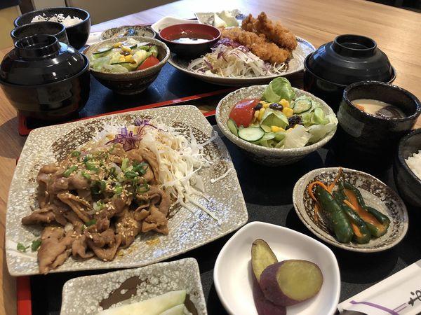 翔定食,巷弄內便宜豐富度又有的日式定食,炸豬排.日式咖哩等,還有每日限量餐點