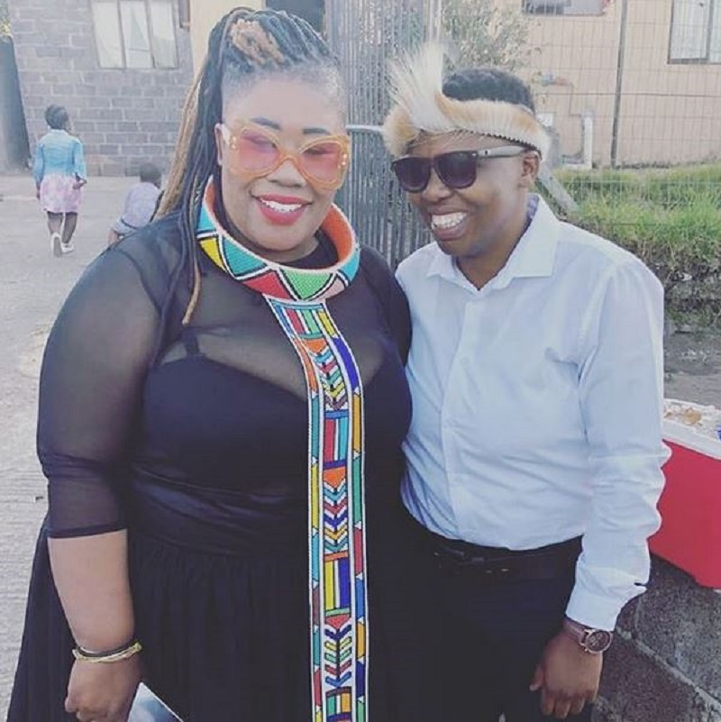 Nomsa Buthelezi and her partner.