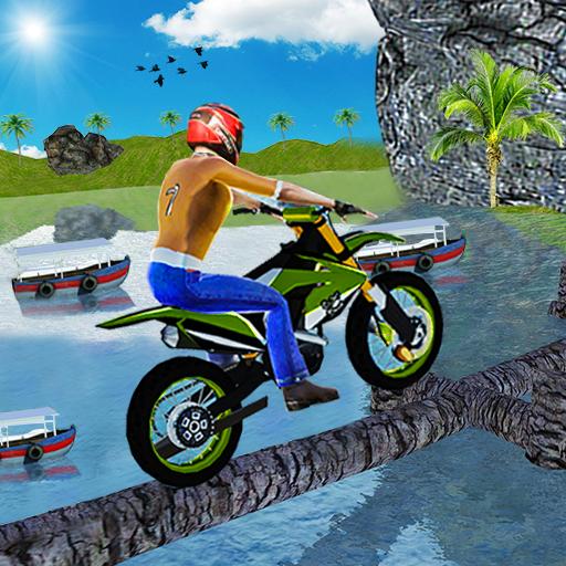 Ramp Bike Sepeda Tidak Mungkin Stunt Game 2020