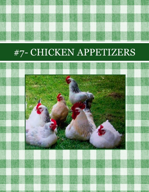 #7- CHICKEN                   APPETIZERS