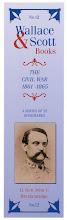 Photo: Wallace & Scott - Civil War bookmark series 12. John C. Breckenridge