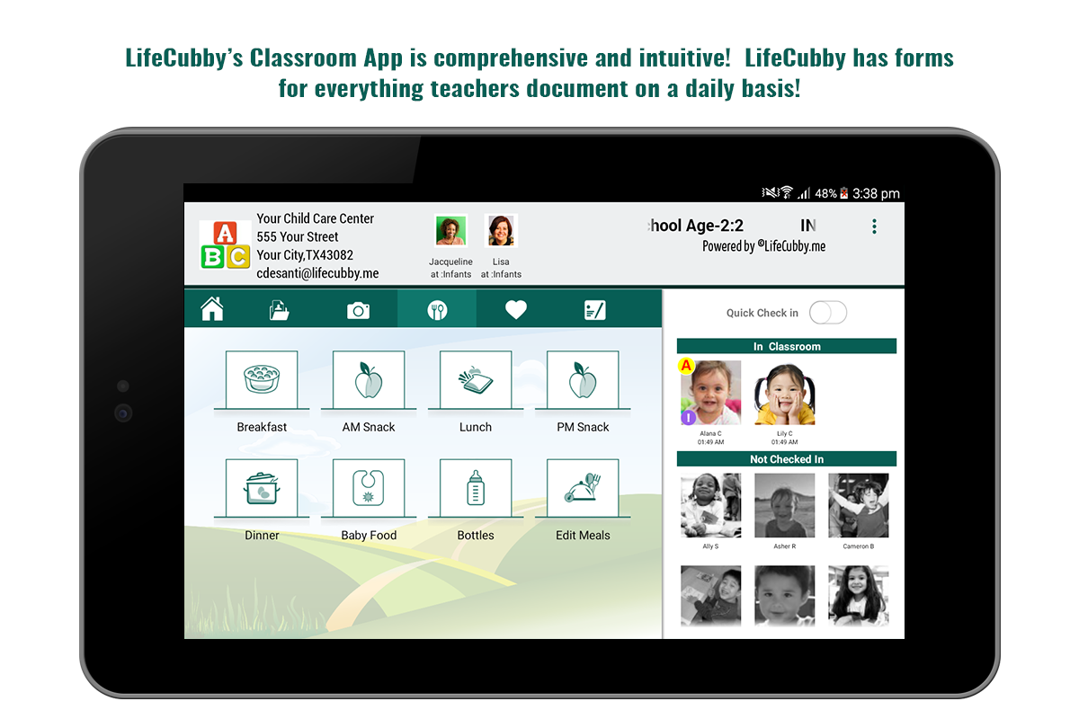 LifeCubby Classroom- screenshot