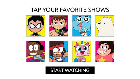 Cartoon Network App APK screenshot thumbnail 1