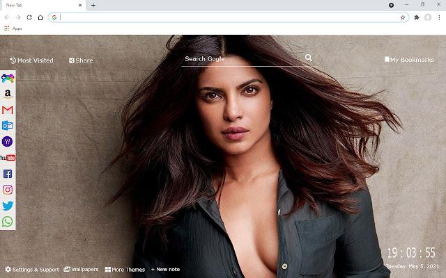 Bollywood Priyanka Chopra Wallpaper HD NewTab