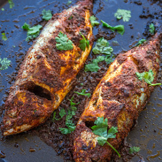 Spicy Grilled Mackerel with Allspice and Paprika