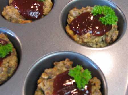 Muffin Pan Mini Meatloaves Recipe