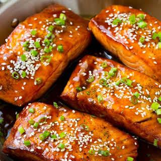 Salmon Teriyaki.