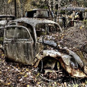 Having seen its better days? by Jan Myhrehagen - Transportation Automobiles