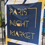 Paris Night Market in Paris, Paris - Ile-de-France, France