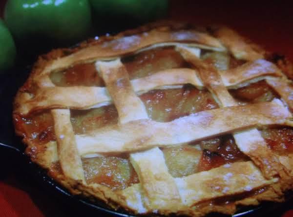 American Glory Apple Cheese Pie Recipe