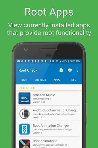 Root Check 4.4.1.0 screenshots 4