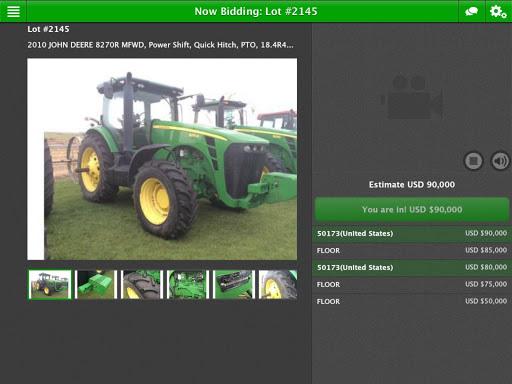 Booker Auction Company 2.0.1 screenshots 1