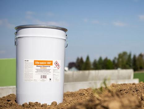Plansilofärg Bitumen Svart 30 liter