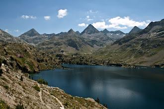 Photo: Vall de Tena:  embassament i panorama de Respomuso