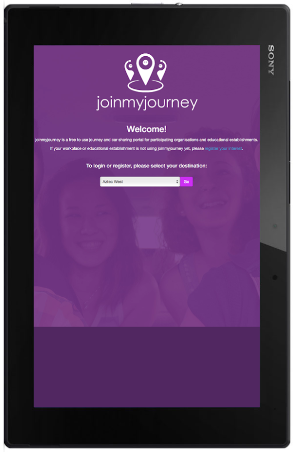 JoinMyJourney- screenshot