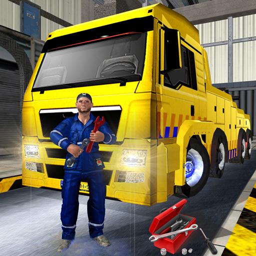 Truck Mechanic Auto Repair Sim