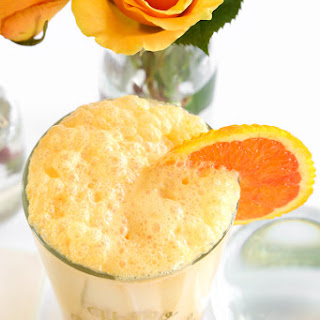 Orange Dreamsicle Frothy.