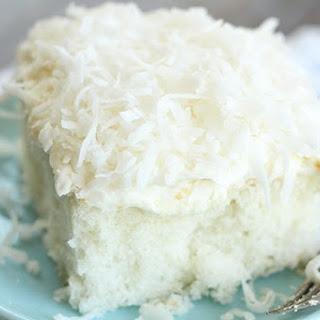 Easy Coconut Sheet Cake Recipe