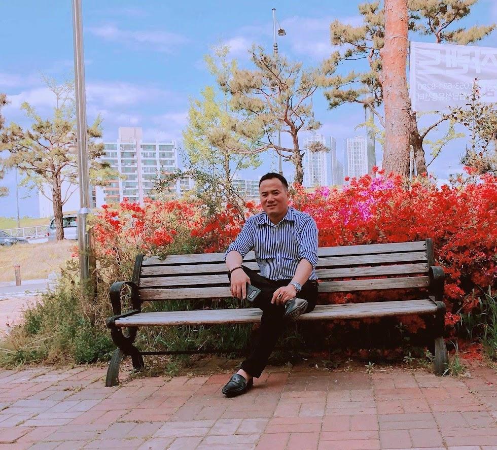 Anh Võ Đình Tuấn tại Hàn Quốc