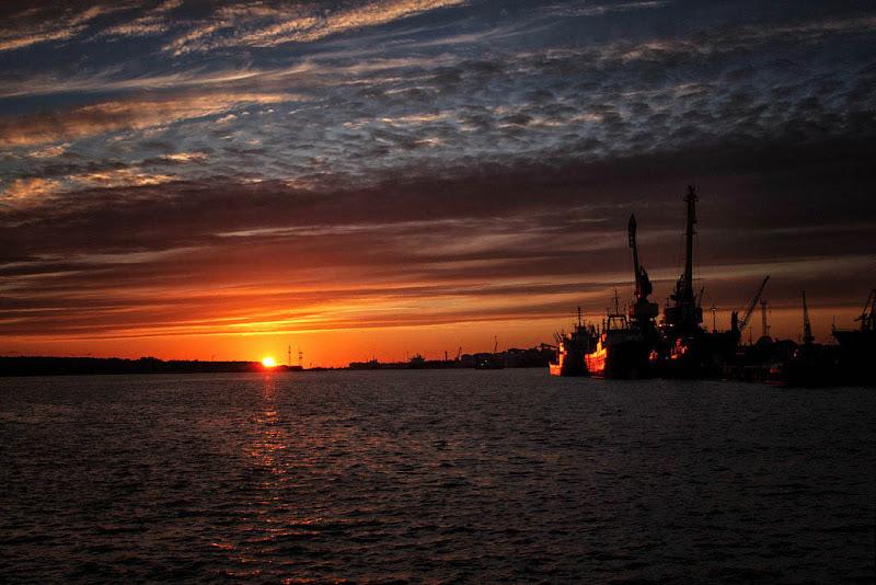 tramonto sul baltico di antonioromei
