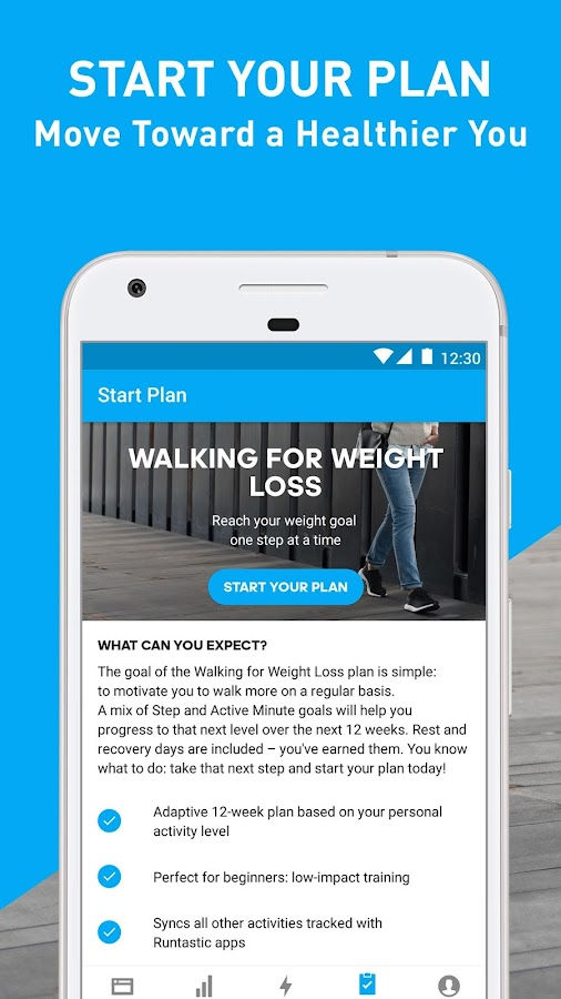 Runtastic Steps - Step Counter & Pedometer- screenshot