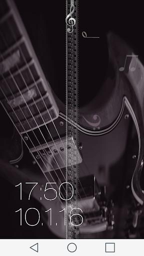 無料个人化Appののミュージック ジッパー画面ロック|記事Game