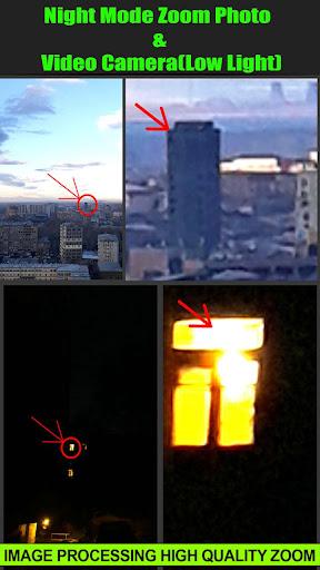 Night Mode Zoom Photo and Video Camera(Low Light) screenshot 2