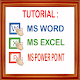 Tutorial Microsoft - Ms.Office Windows (app)