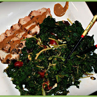 Spicy Thai Almond Butter Dressing