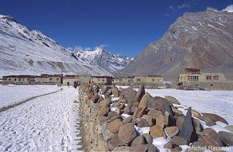 Photo: le village de Pidmo
