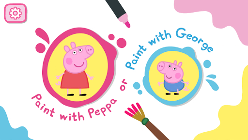 Peppa Pig: Paintbox screenshot 1