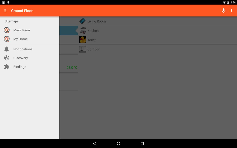 openHAB- screenshot