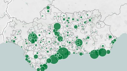 Almería frente al coronavirus: 15 localidades recogen los 121 casos del jueves