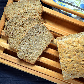 Quick Whole Wheat Honey Bread.