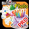 Birthday Photo Editor Pro icon