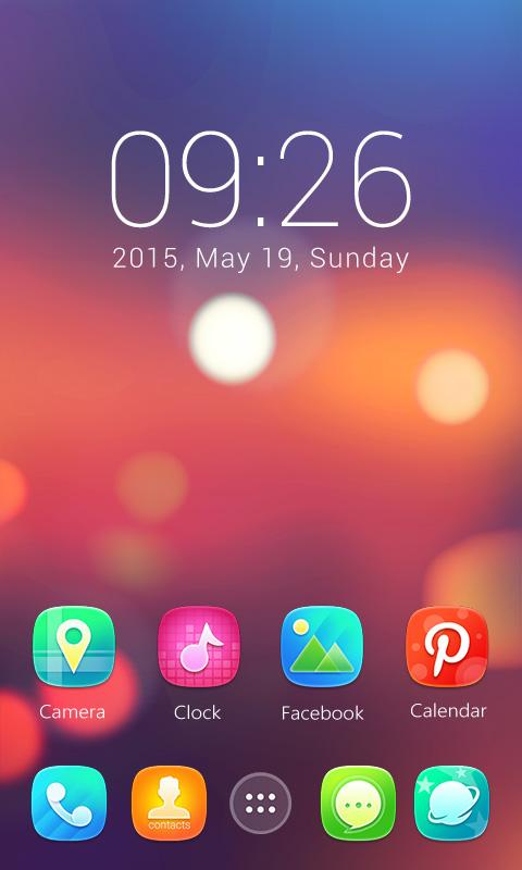 Ample GO Launcher Theme- screenshot