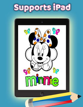 Download Bagaimana Warna Minnie Tikus Mewarnai Game Untuk Dewasa Apk