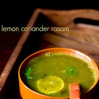 Lemon Coriander Rasam