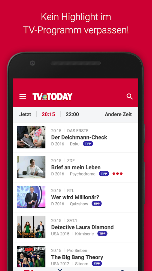 TV Today - TV Programm- screenshot