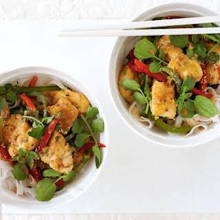 Korean Fish Stir-fry.