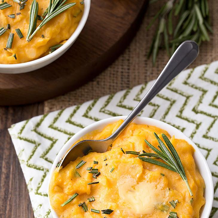 Cheddar Pumpkin Mashed Potatoes Recipe