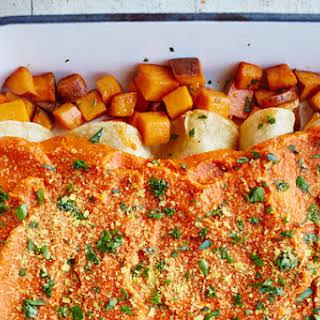 Sweet Potato Enchiladas.