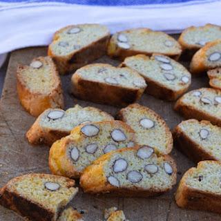 Cantucci almond biscotti recipe & Giveaway.