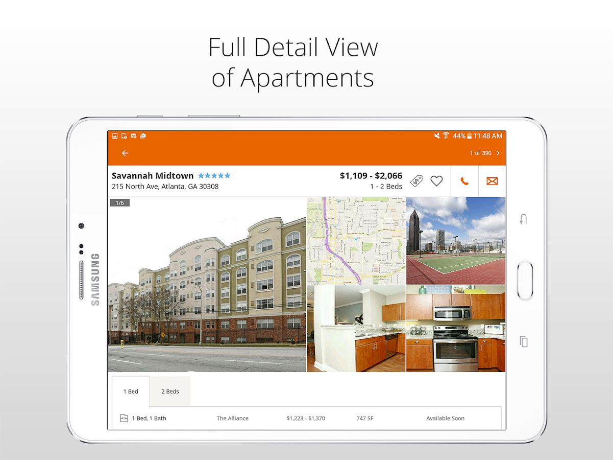 Apartment Finder- screenshot