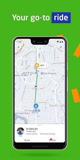 GOJEK - Ojek Taxi Booking, Delivery and Payment 3.24.0 screenshots 1
