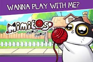 Screenshot of Mimitos cat - Virtual Pet