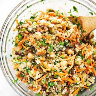 Moroccan Chickpea Quinoa Power Salad.